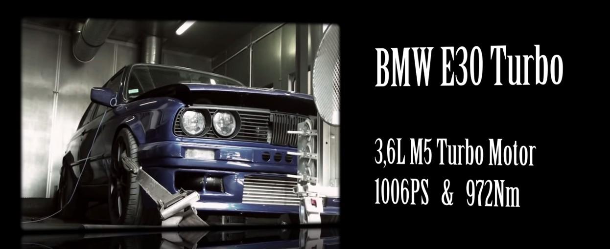 BMW E30 Turbo 1000ch