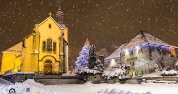 Chamonix by night