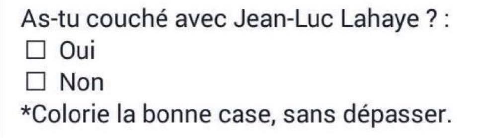 Jean Luc Lahaye aime les jeunes filles
