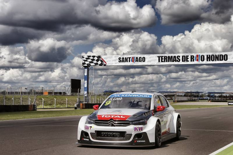 photo Sebastien Loeb WTCC Argentine