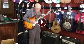 vieux monsieur guitare