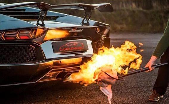 Lamborghini BBQ