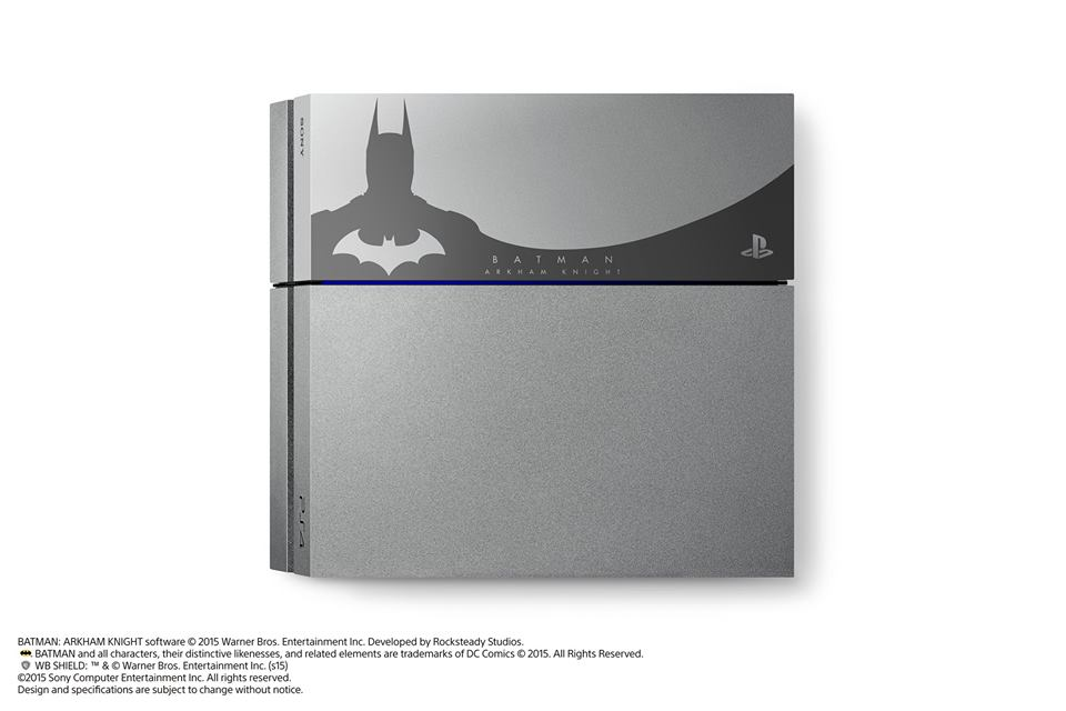photo console Sony PlayStation 4 édition Batman Arkham Knight