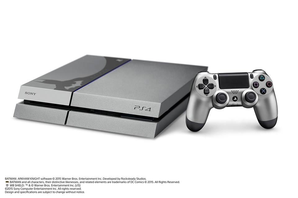 photo console Sony PlayStation 4 édition Batman Arkham Knight