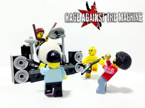 Lego Rage Against The Machine