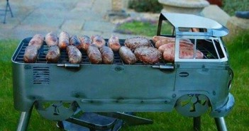 photo vw combi barbecue
