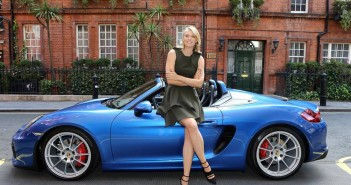 photo Maria Sharapova Porsche Boxster
