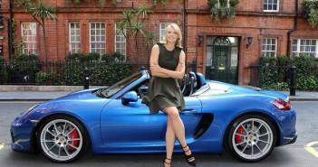 photo Maria Sharapova Porsche Boxster