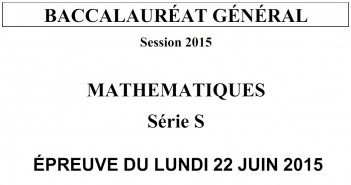 bac 2015 maths
