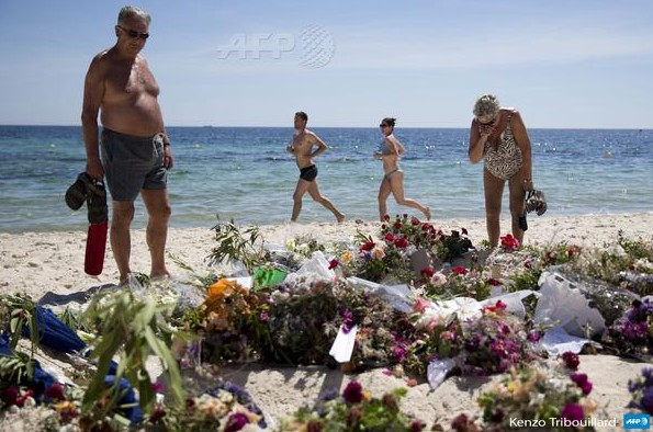 fleurs attentat Sousse (2)
