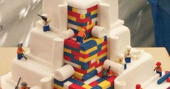 photo gateau mariage lego