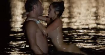 Lola Le Lann nue avec Vincent Cassel nu