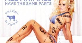 photo Pamela Anderson nue PETA