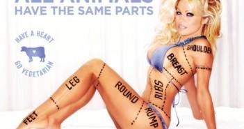 photo Pamela Anderson nue PETA