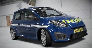 photo Renault Twingo RS Gendarmerie