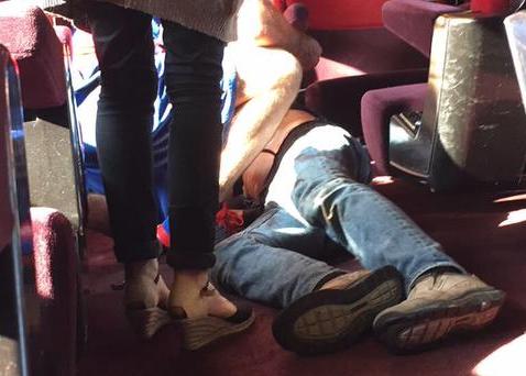 Vidéo de l'attentat terroriste dans le train Thalys