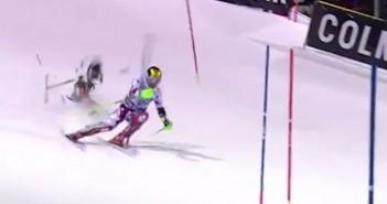 ski chute drone