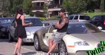 Bugatti prank