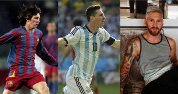 photo Lionel Messi look