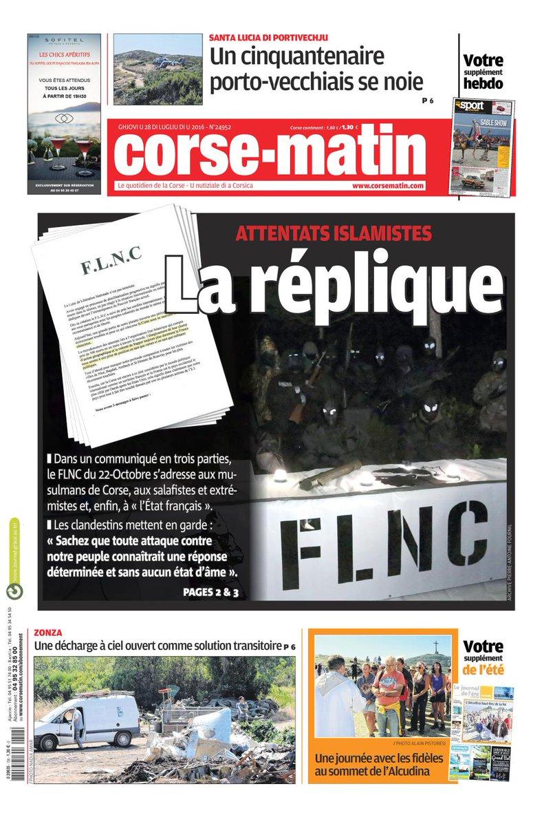 FLNC Corse Daesh