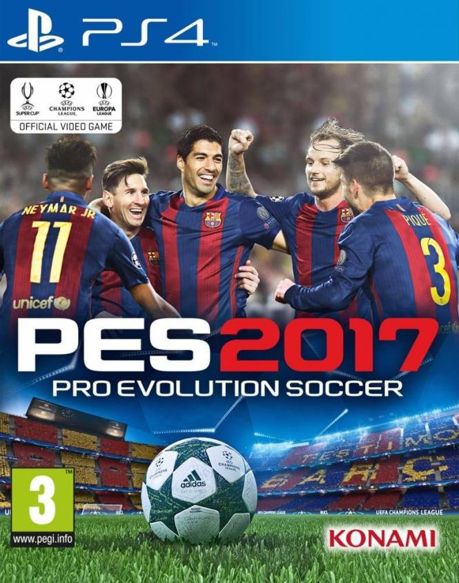 PES2017 cover