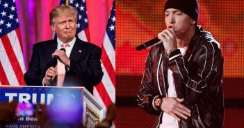 eminem vs trump
