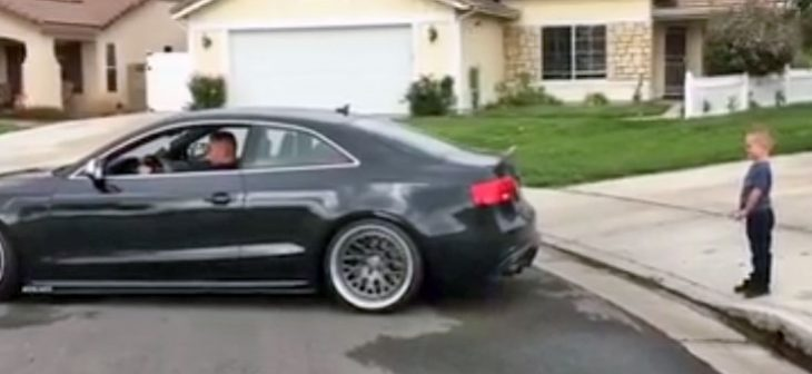 Audi S5 RS5 dent